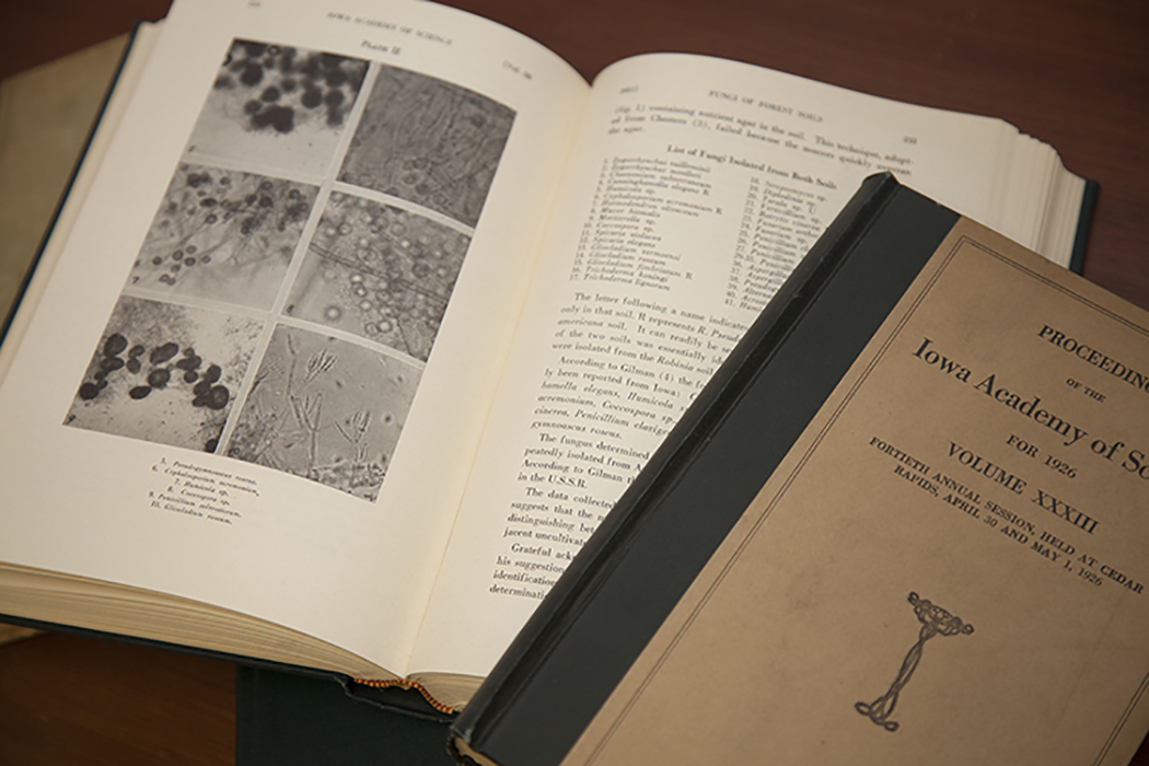 The Journal of the Iowa Academy of Science was first published in 1887 as the Proceedings of the Iowa Academy of Sciences.