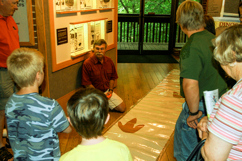 IAS Speaker Series at Saylorville Lake Visitor Center.