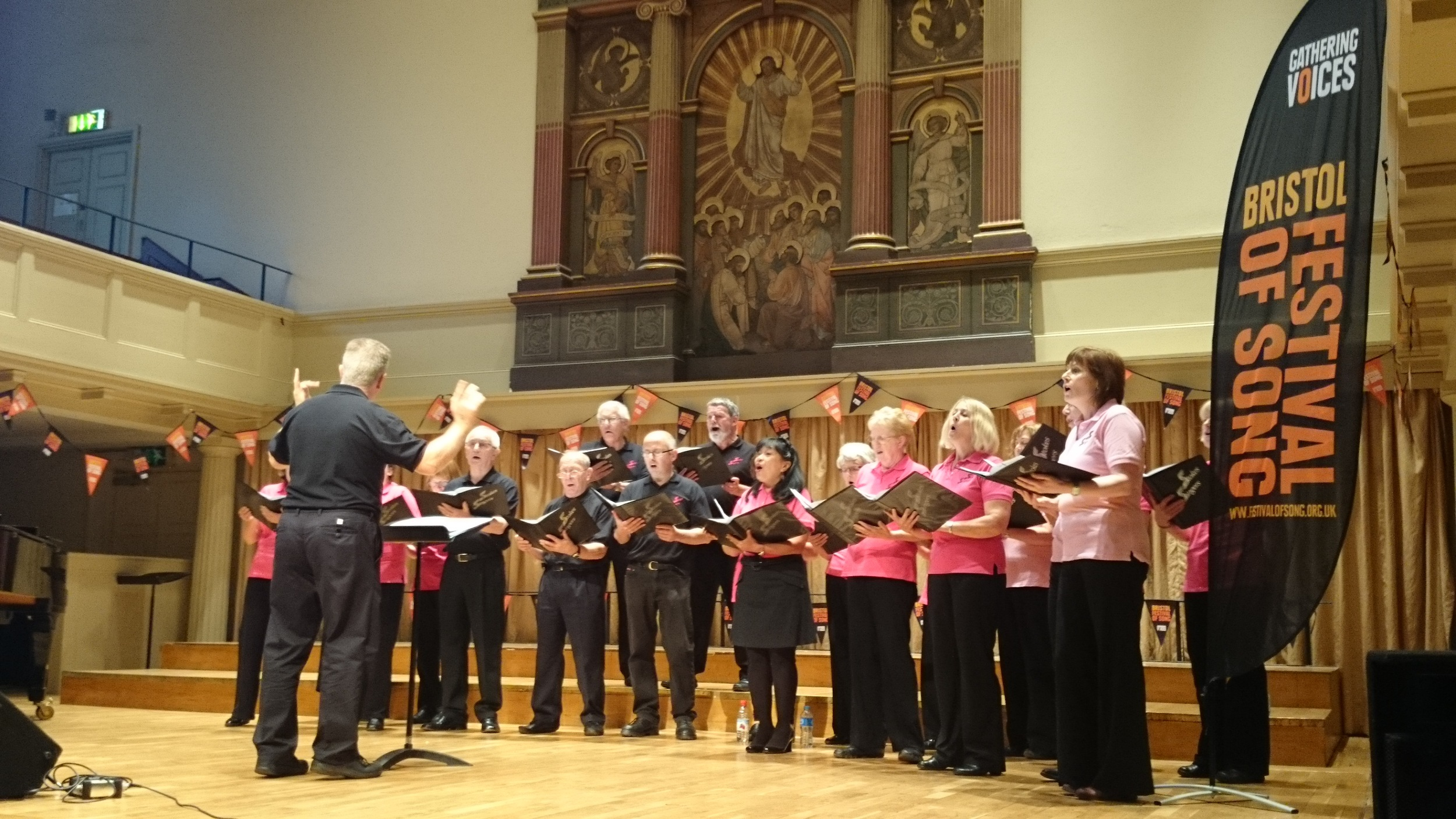 Singing at St Georges