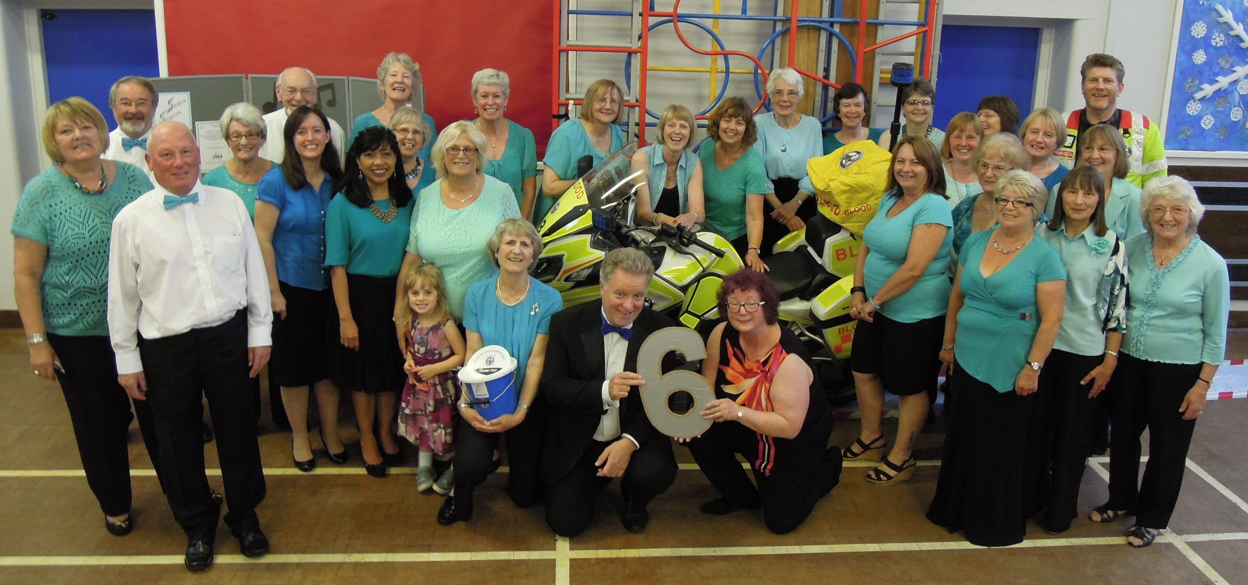 Event 6: Our Summer Concert at Little Stoke Primary School when we raised over £300 for the Freewheelers motorcycle charity who deliver vital medical supplies within the NHS and the community.