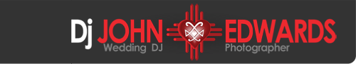 Santa Fe DJ services for wedding receptions.
