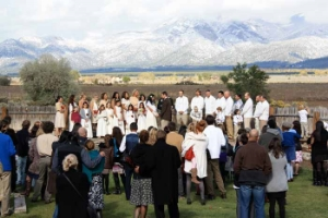 Taos wedding ceremony / reception venue, also for rehearsal dinners and destination weddings.