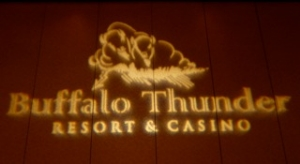 Buffalo Thunder Resort      Santa Fe destination wedding venue