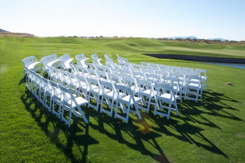 Ceremony chair rentals
