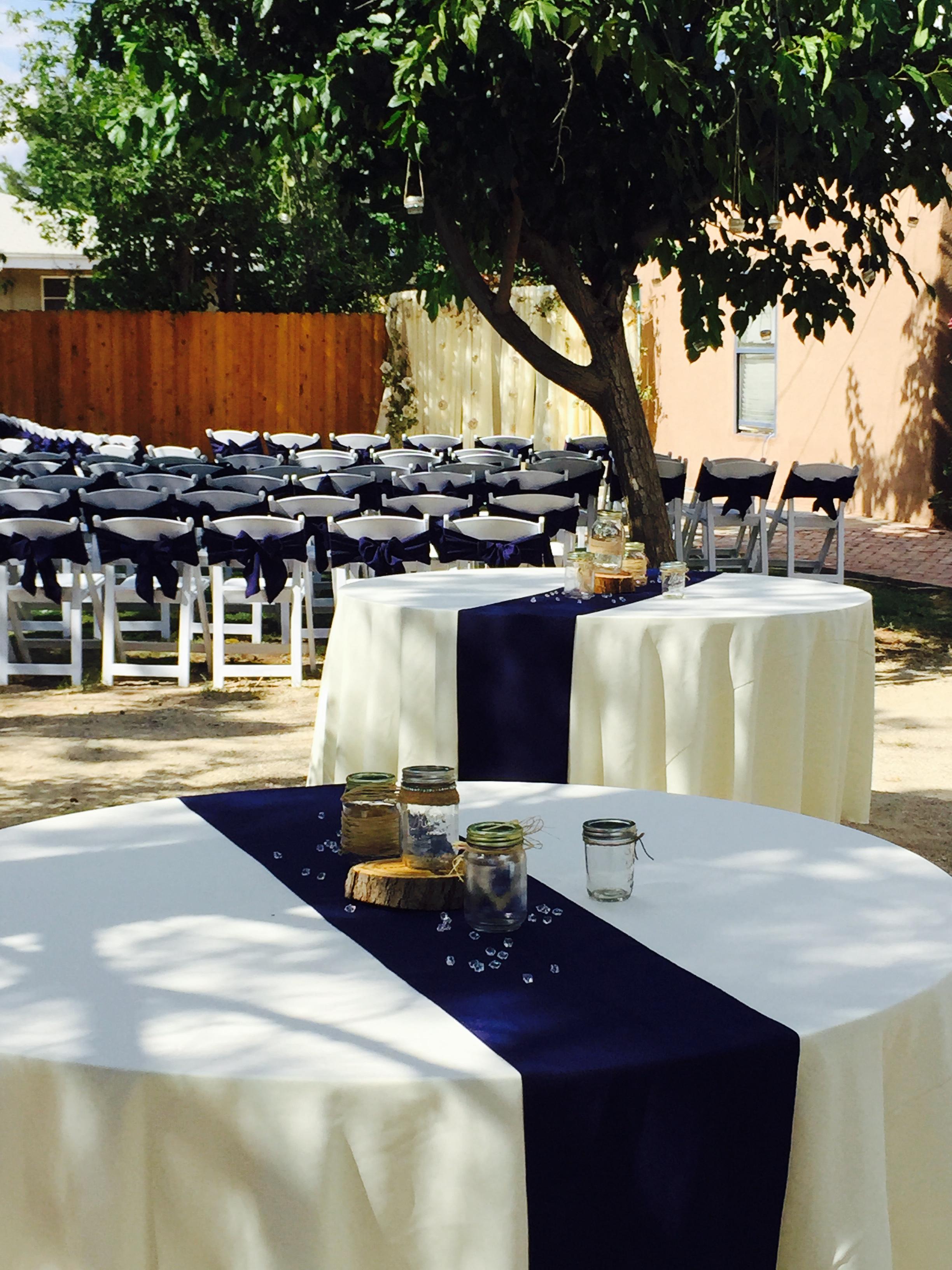 Table decor rentals in Las Cruces
