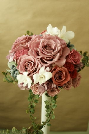 Your wedding bouquet is beautiful! Be sure you know how to preserve it