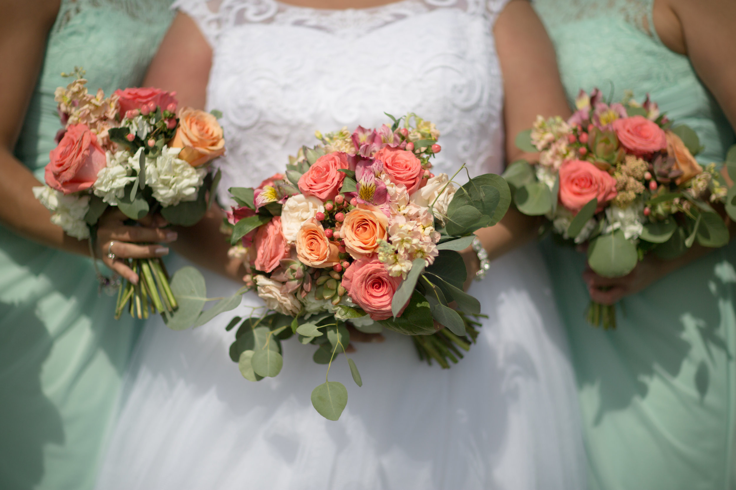 Shannon loves flowers bouquets shot by matt blasing photography
