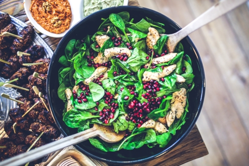 Eating healthy to have a great wedding day