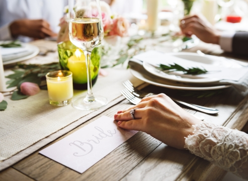 Design elements for fall weddings