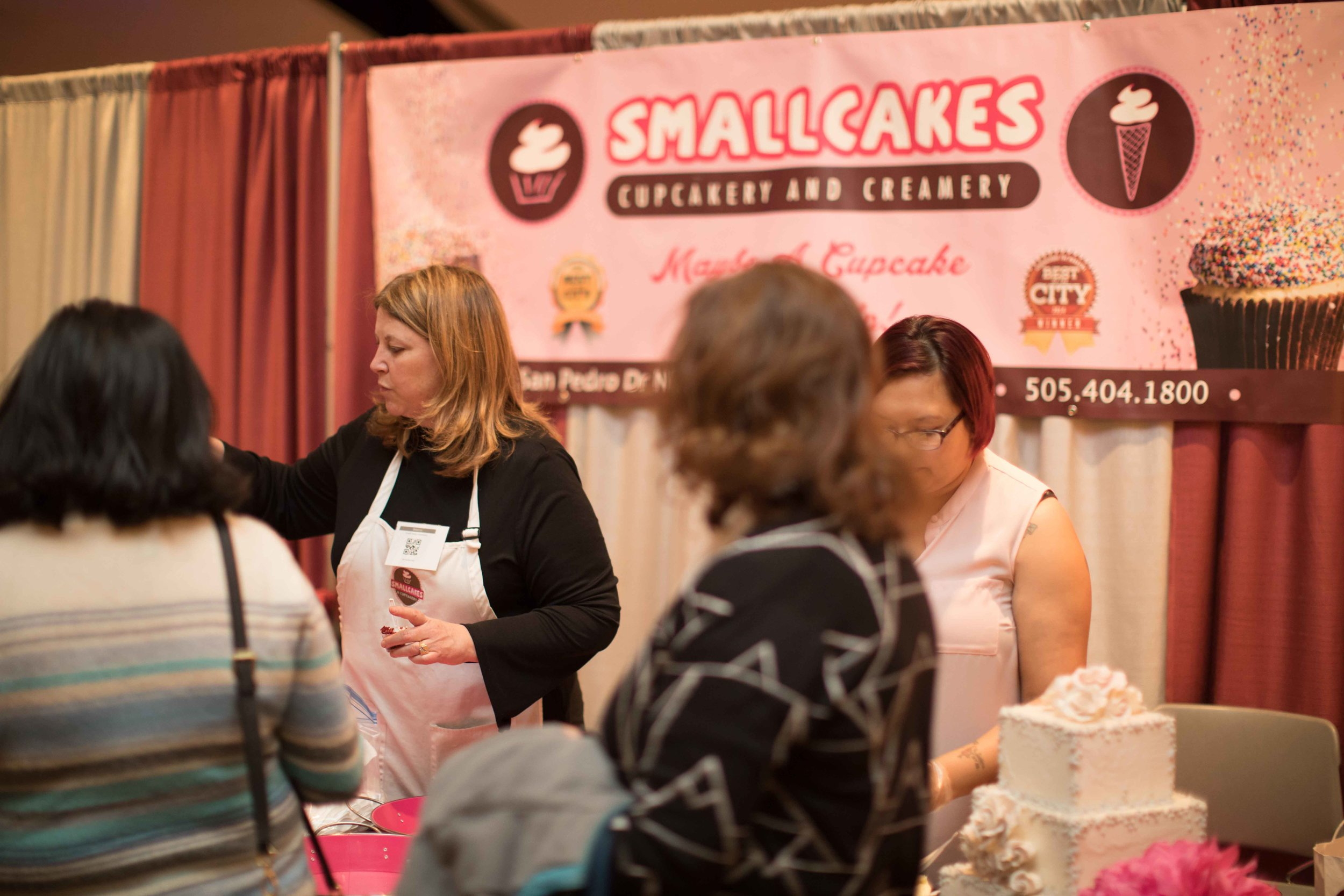 NM Wed Expo - Small Cakes cupcakes.jpg