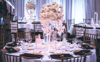 Banquet tables for your reception