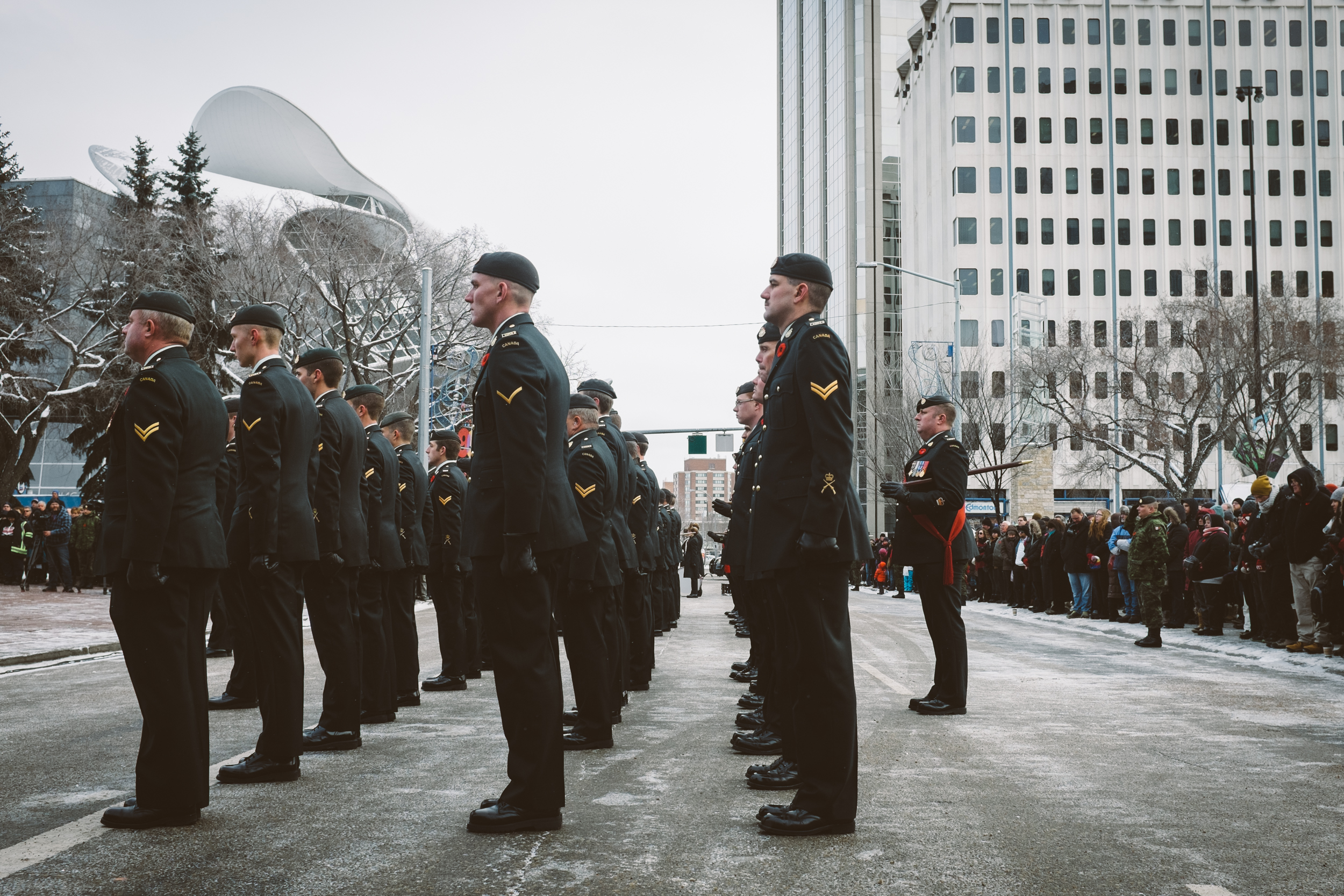 Edmonton Remembrance Day
