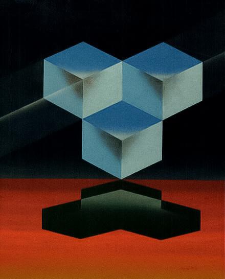 Three Cubes