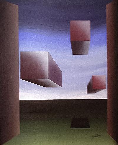 Cubes Outside