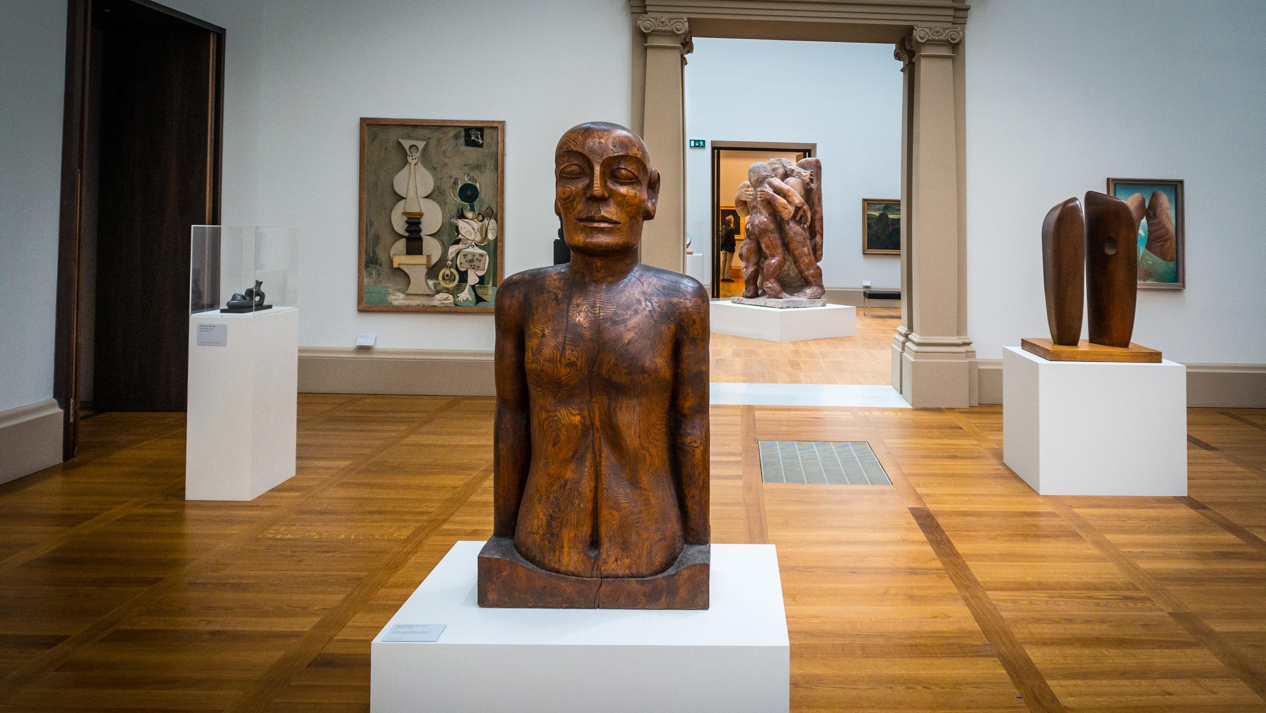 Sculpture at Tate Britain
