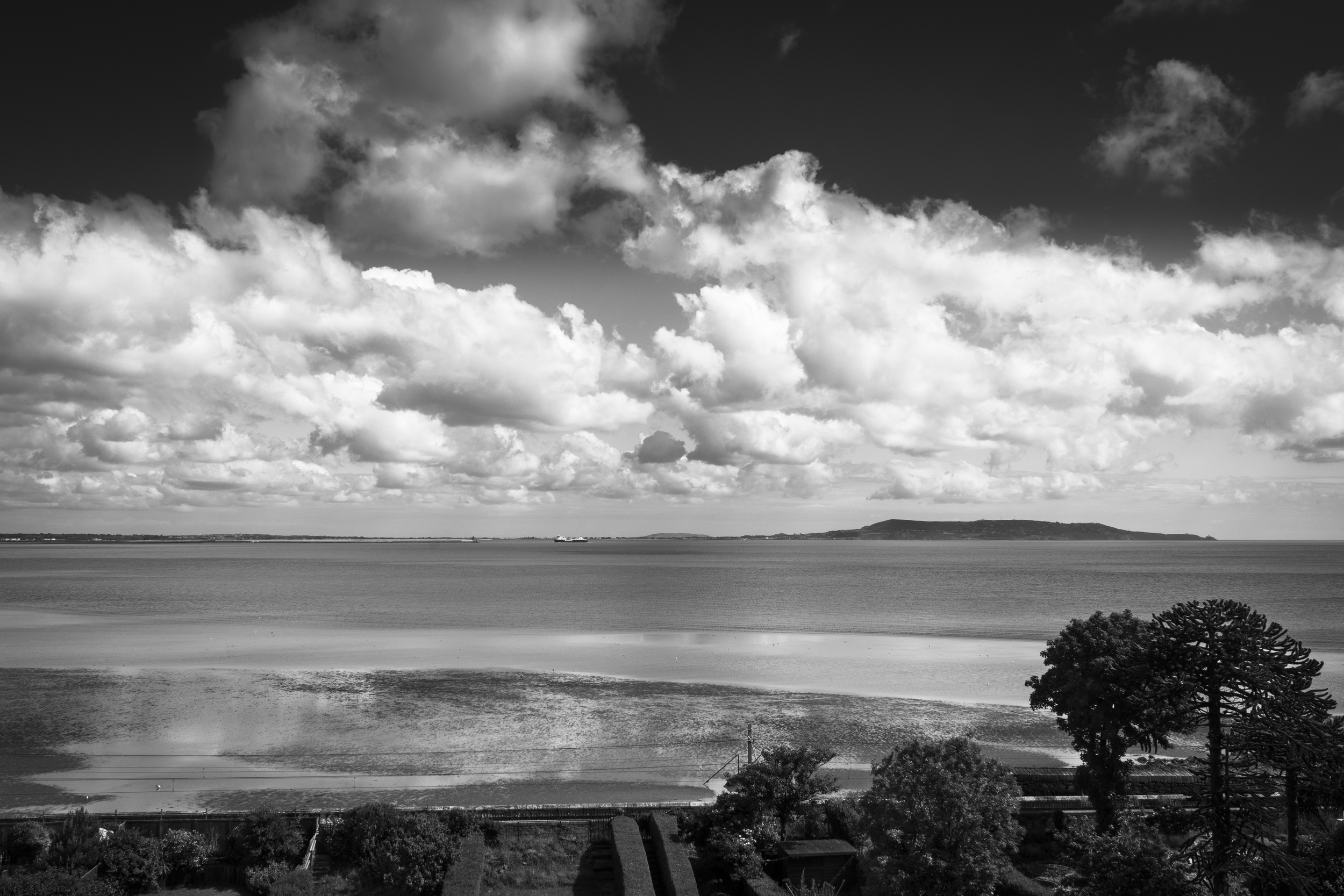 Clouds over Howth