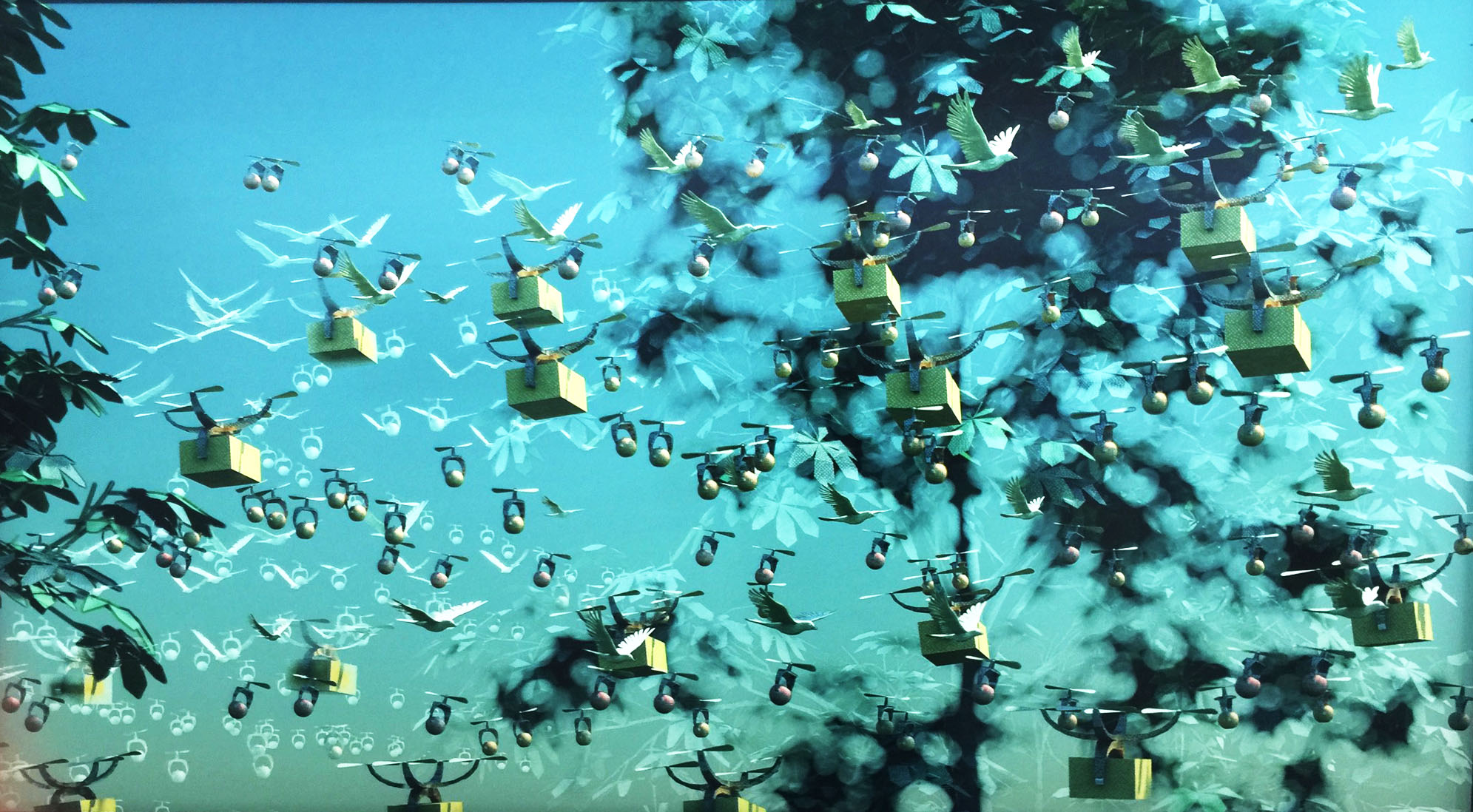 "Still from Miguel Soares animation ""2048"""