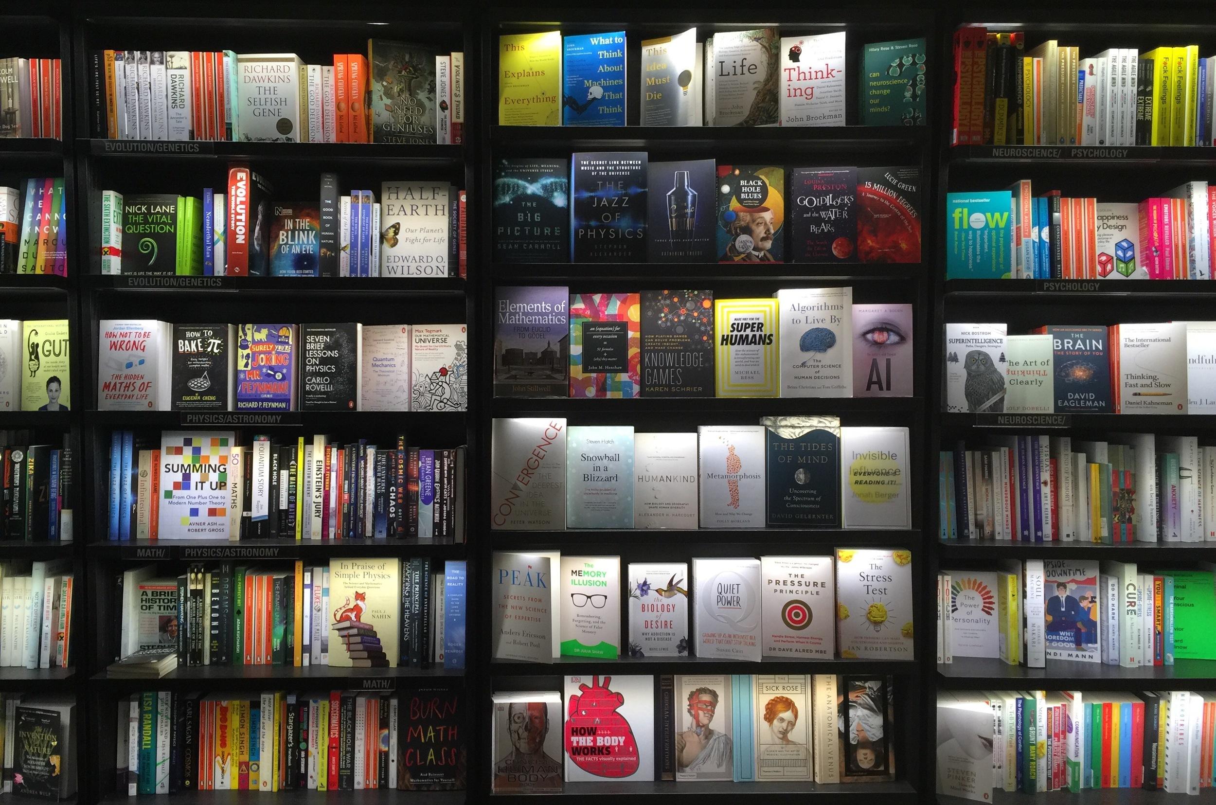 Popular Science at Dussmann bookshop