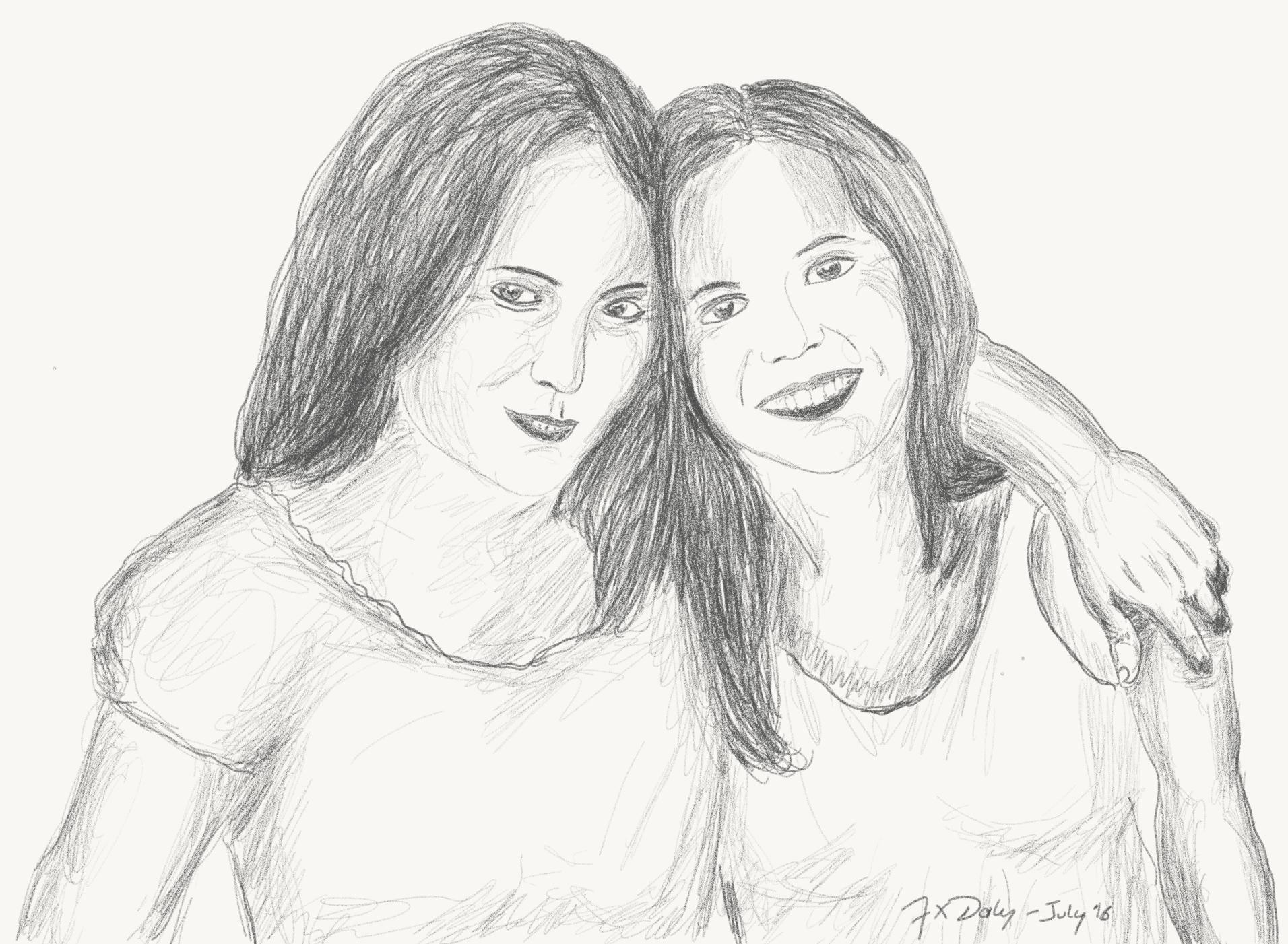 Fiamma and Anna