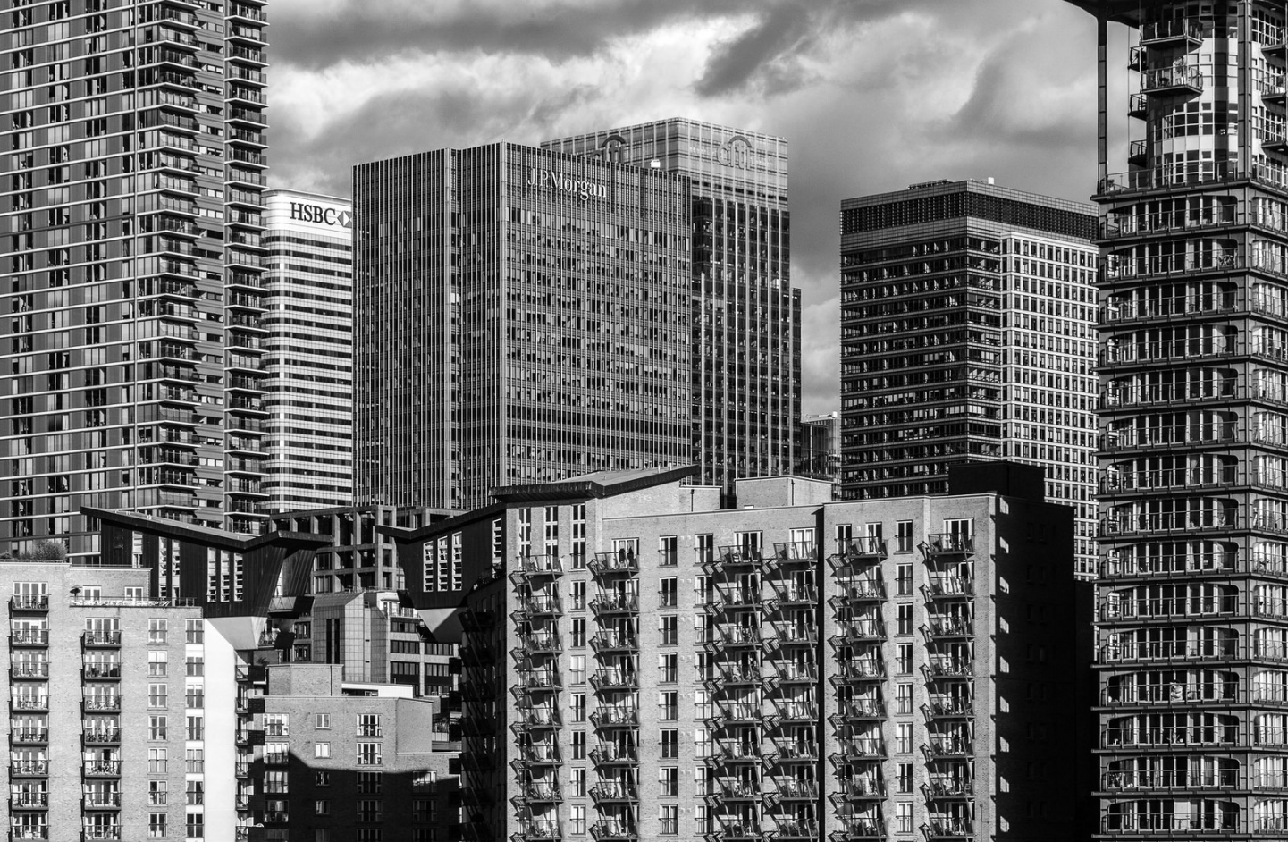 Canary Wharf, London by Larry Dalton at the People's Photography Exhibition