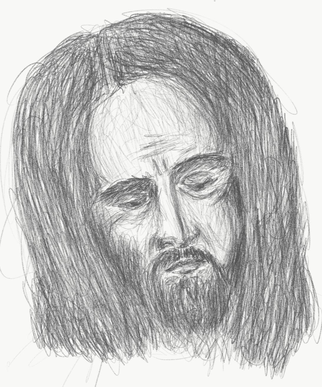 Taking of Christ detail