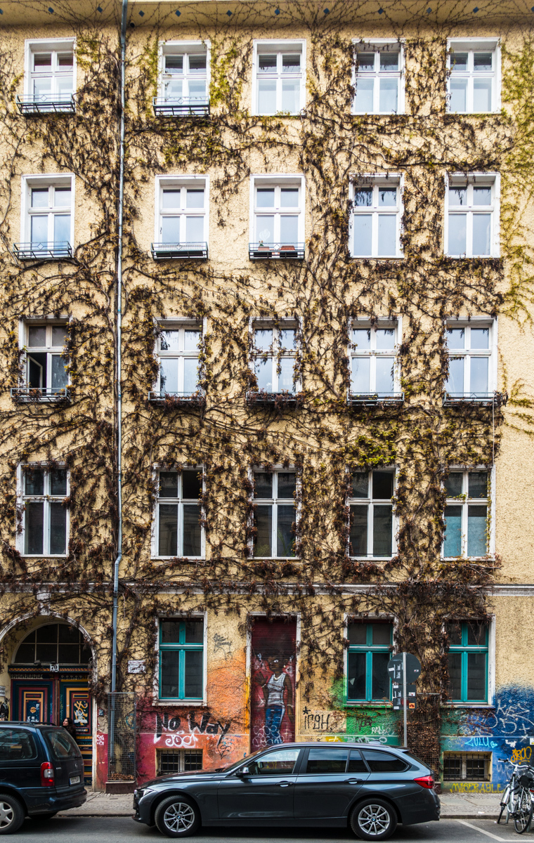 interesting building on Auguststrasse