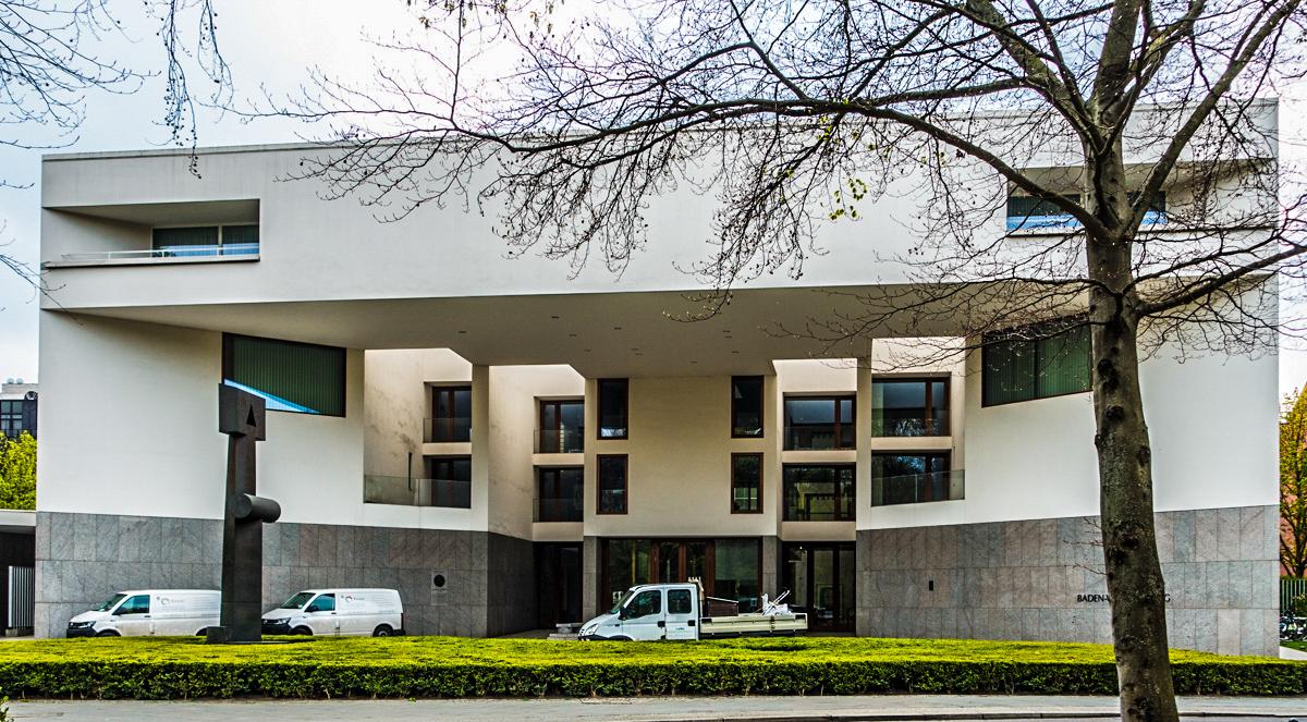 Government building at Tiergarten