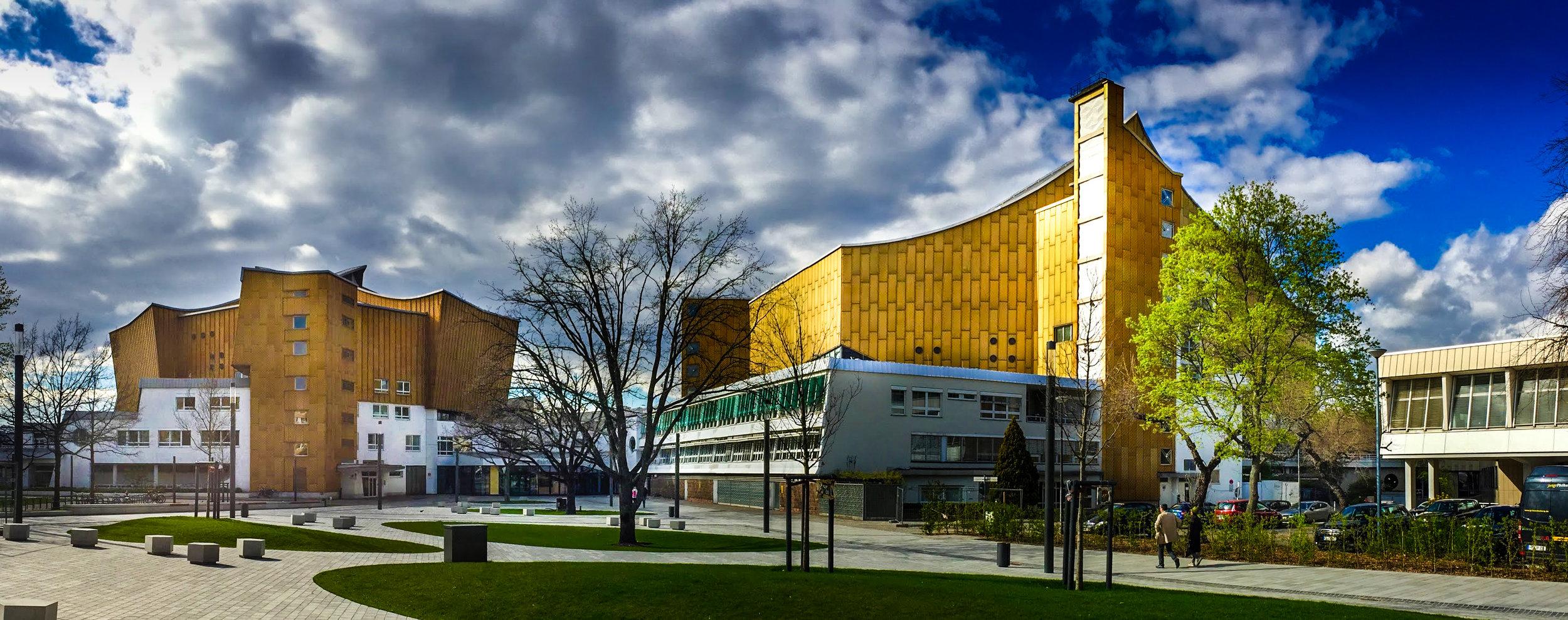 Berlin Philharmonic buildings