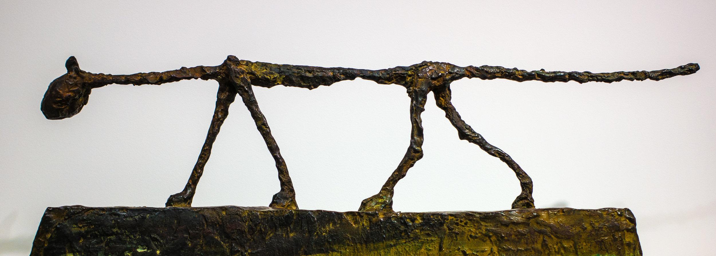 Alberto Giacometti sculpture
