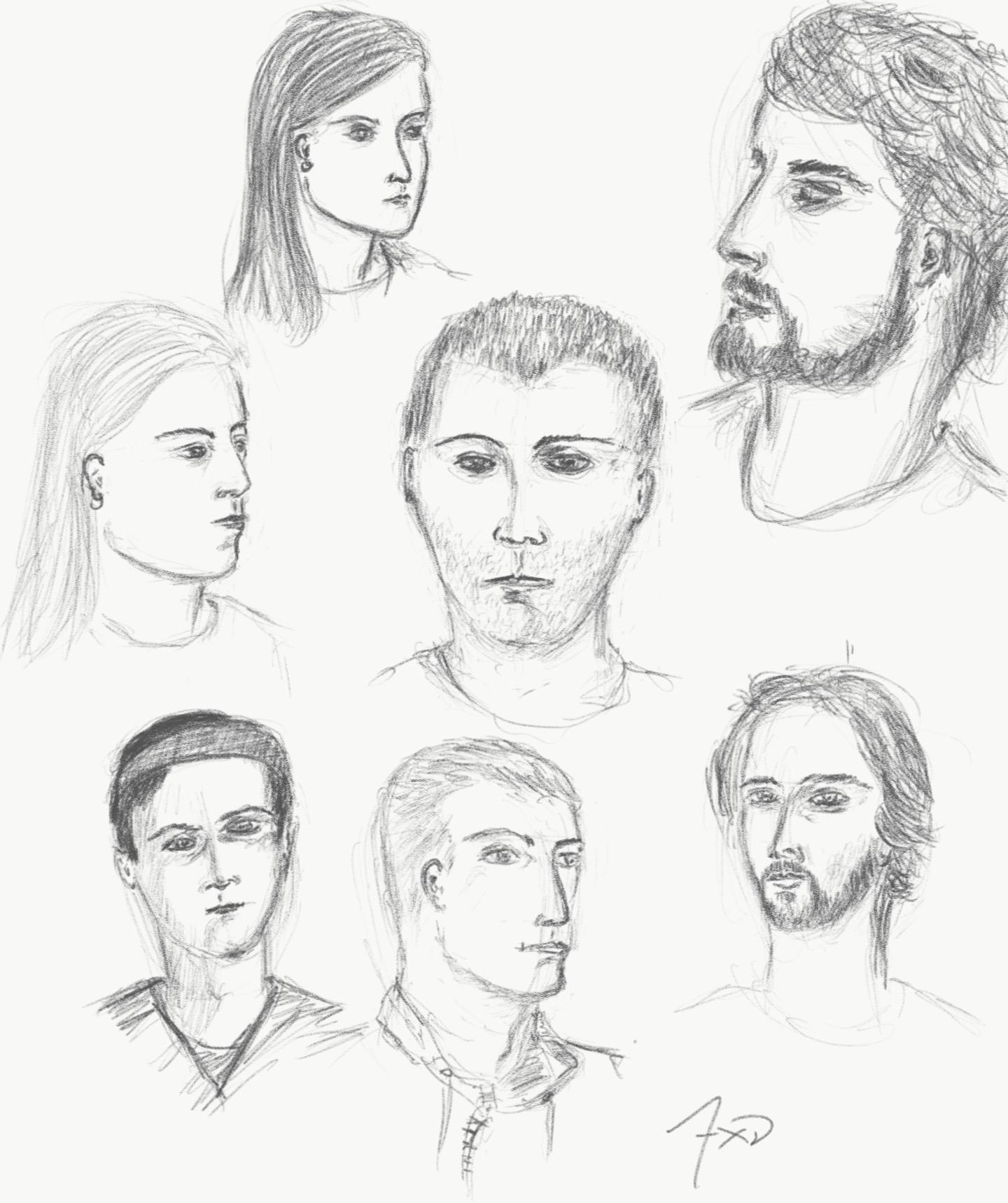 Drawing Meet-up 10-min sketches