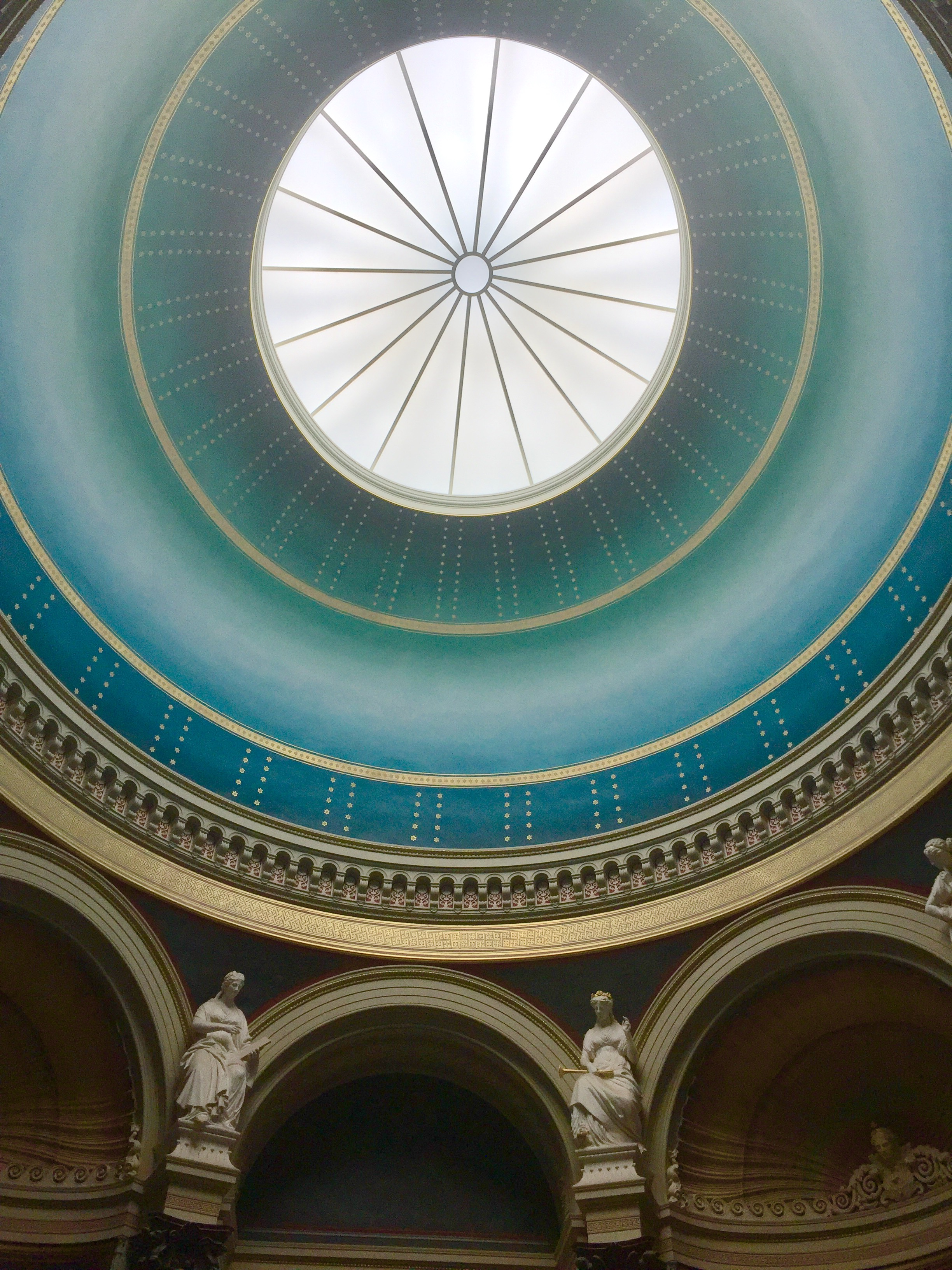 One of the domes in the museum
