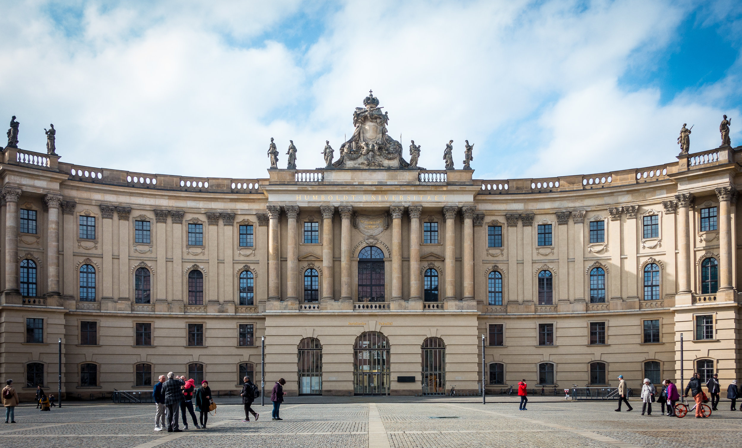 Humboldt University - established in 1810 it is the oldest of Berlin's 4 universities.