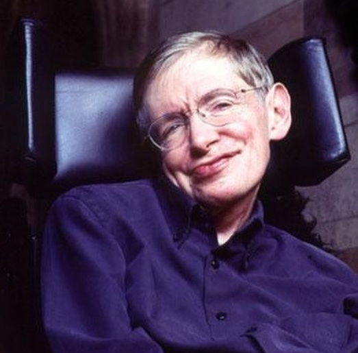 Stephen Hawking died on 14th March 2018