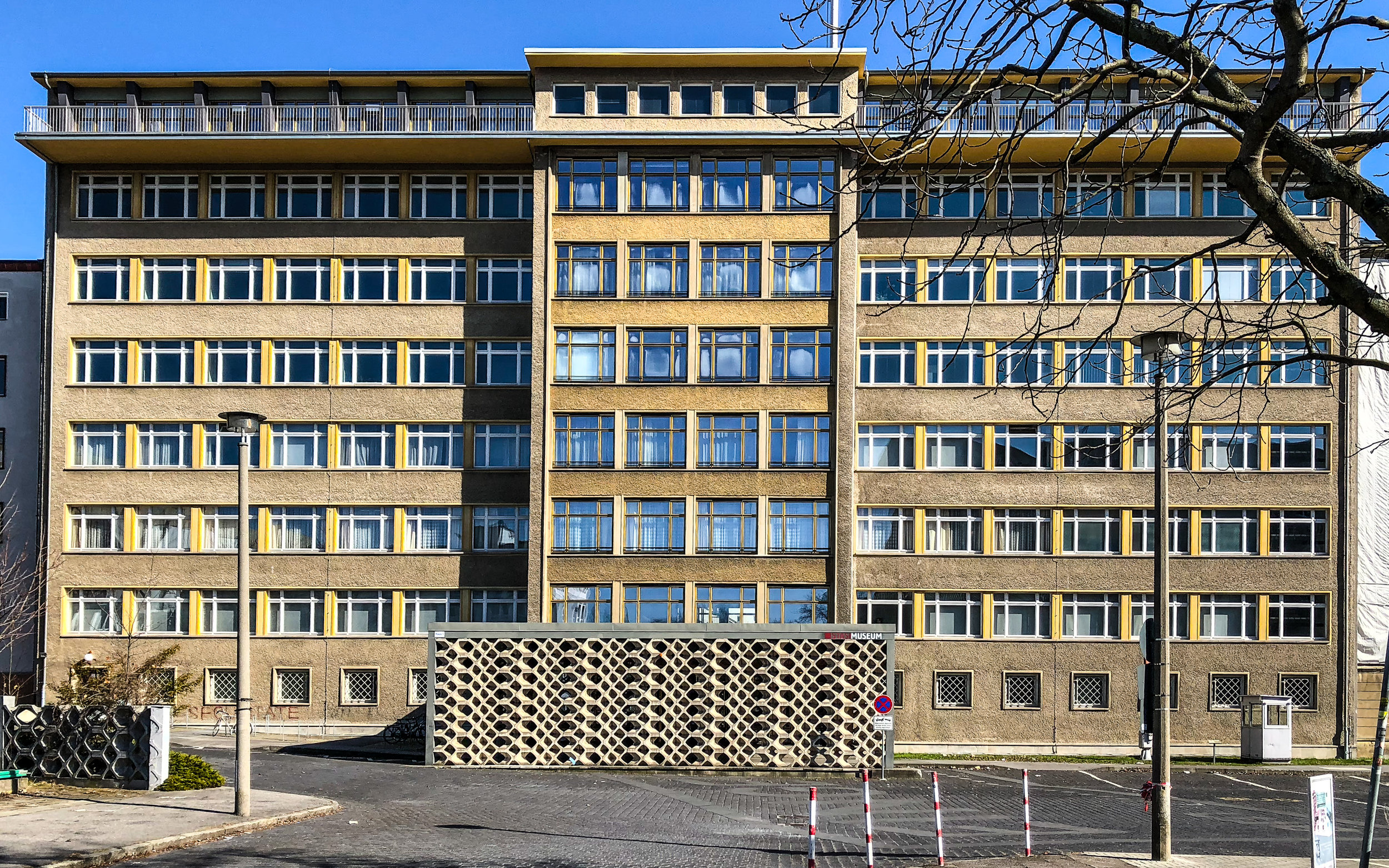 The Ministry for State Security, now part of the Stasi Museum