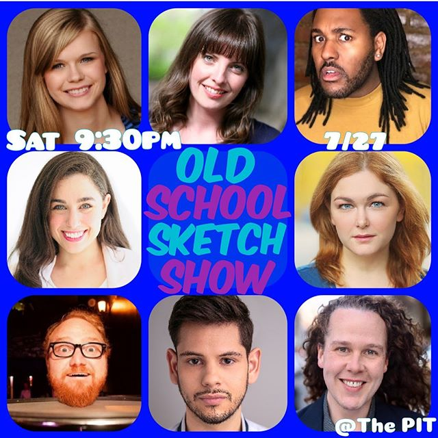 Hey! I'm performing on a super fun show @thepitnyc this Saturday, July 27th 9:30p. Come see me and these talon-ted humans show off our comedy feathers!