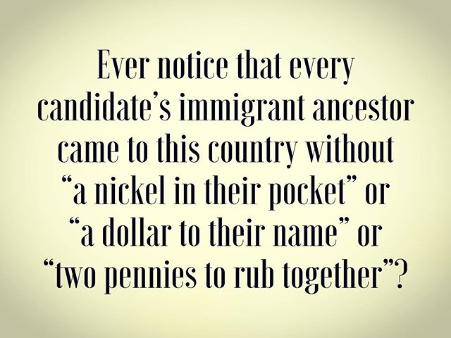 Just a thought... #election2020