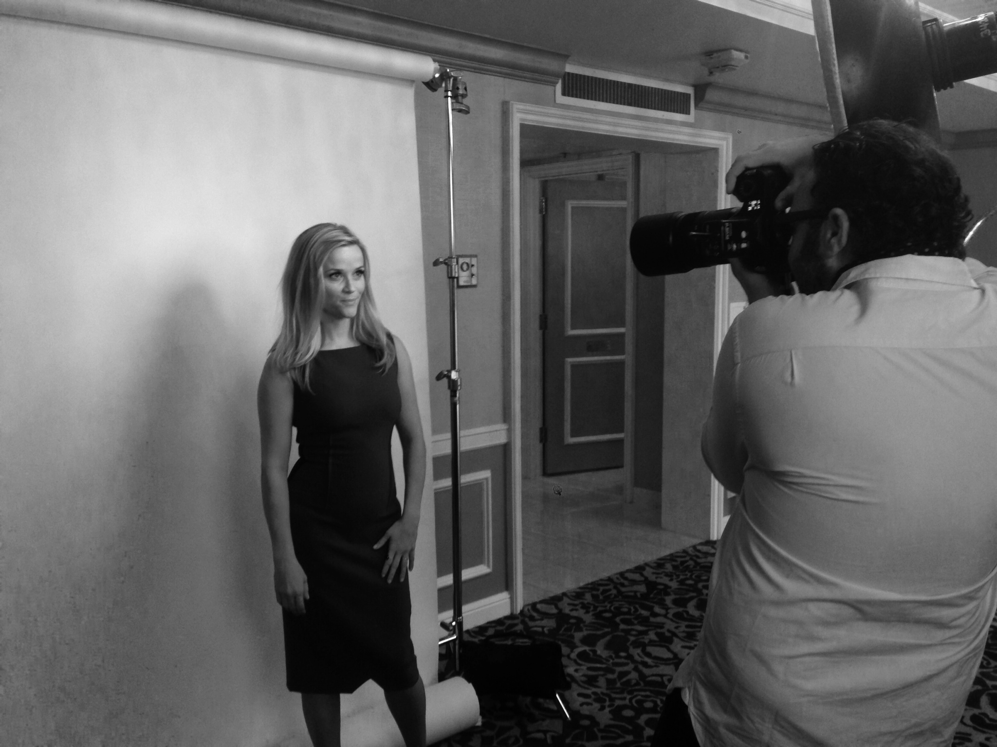 Mark Mann shooting Reese Witherspoon