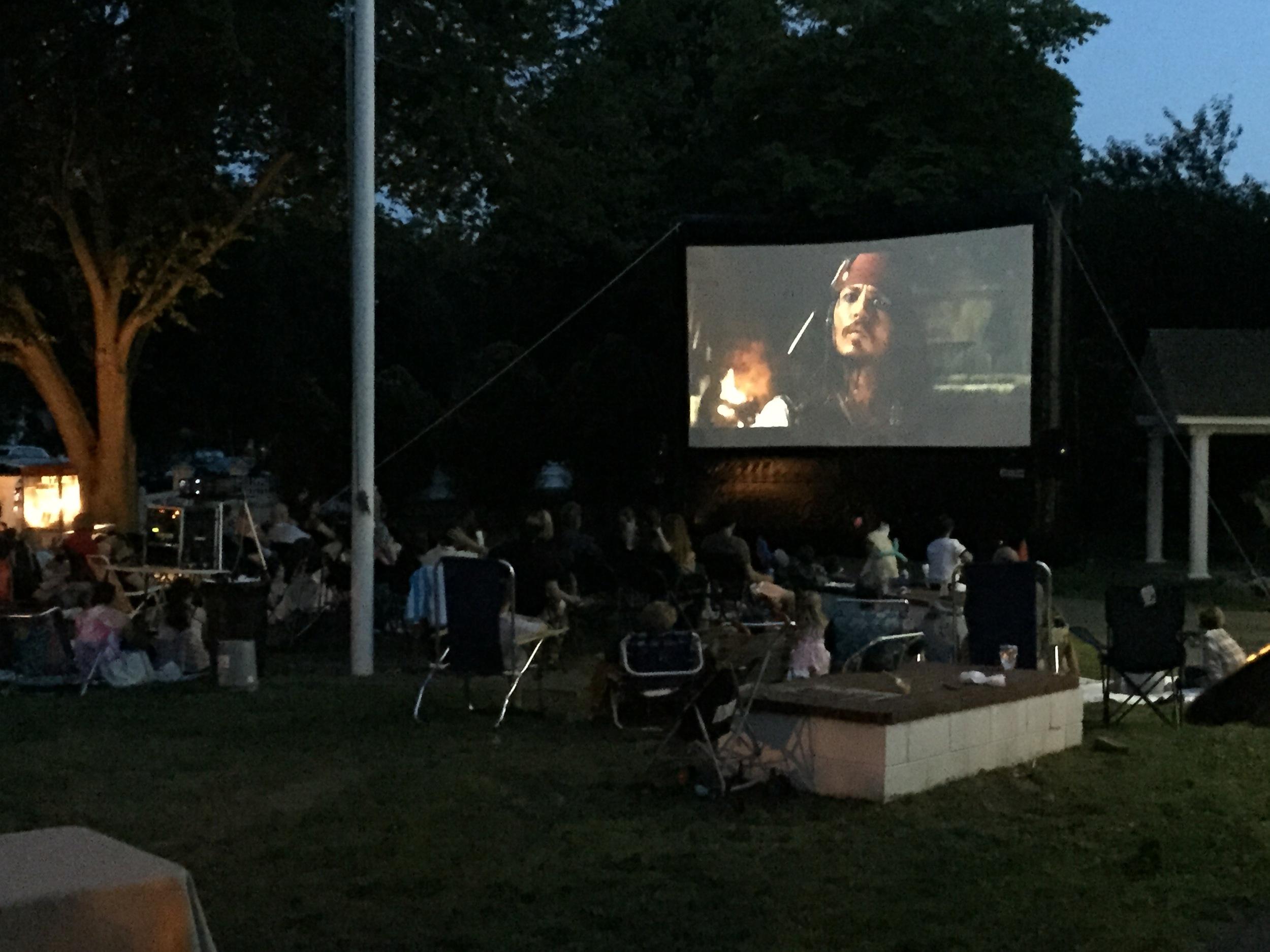 Pirates of the Caribbean screening at Family Night!