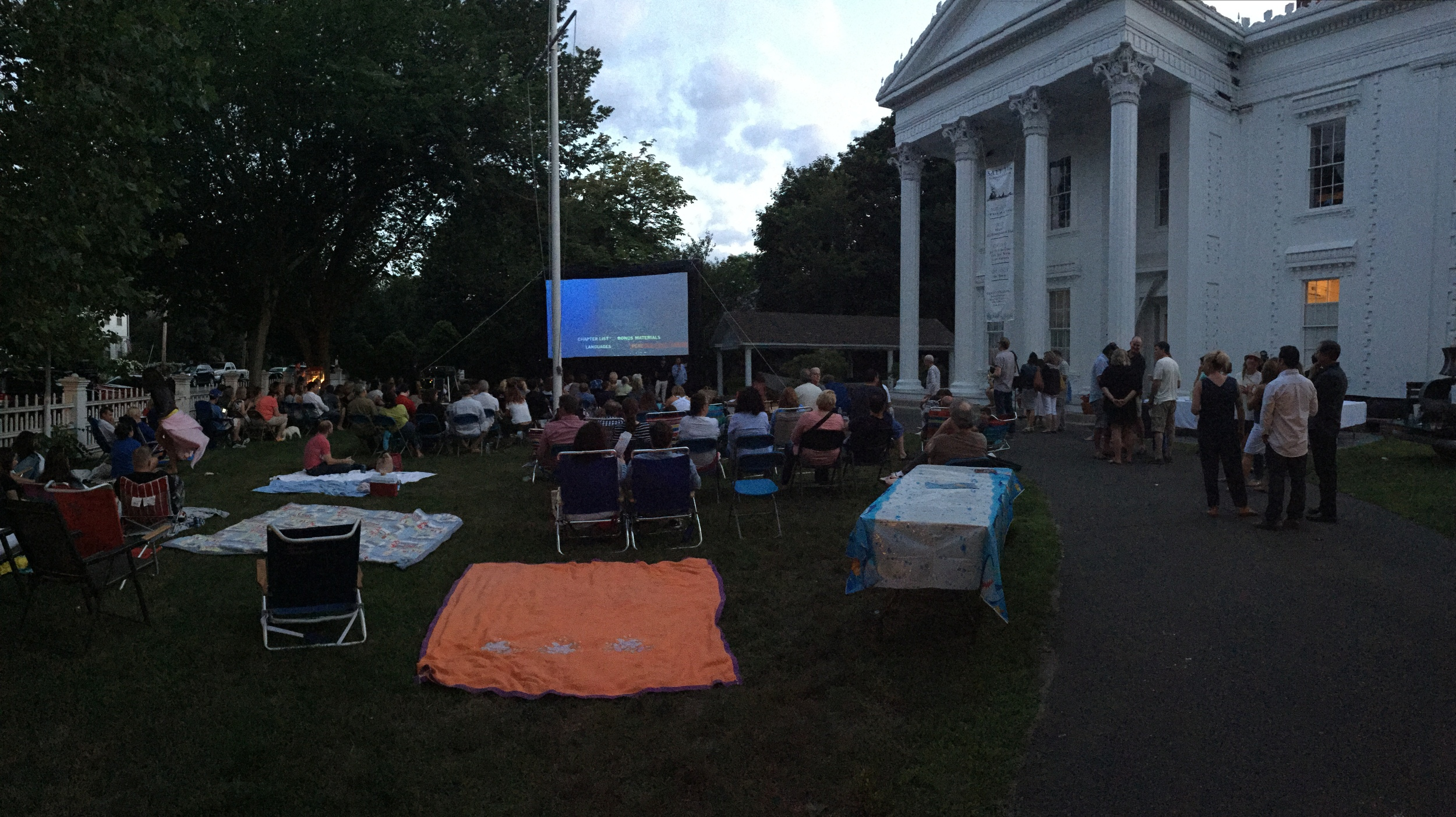 40th Anniversary Screening of JAWS on the front lawn!