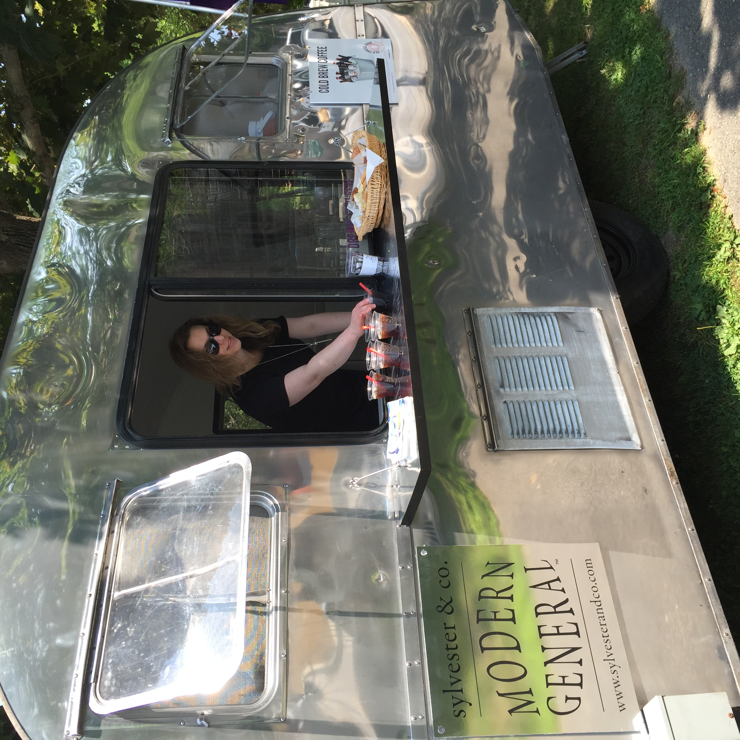 Sylvester & Co Modern General™ serves Dreamy Coffee from their 1947 Airstream.