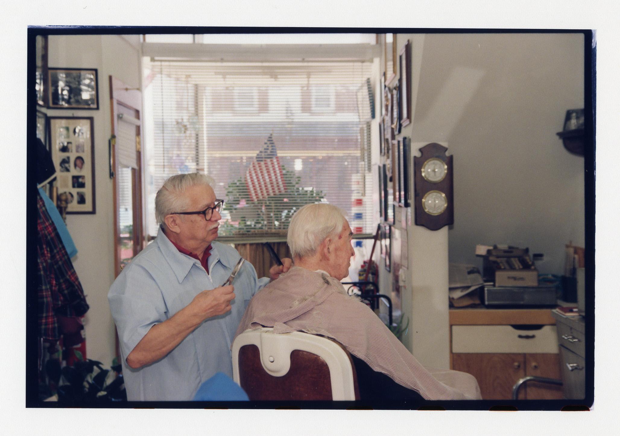 Marty Trunzo the Barber - Kathryn Szoka