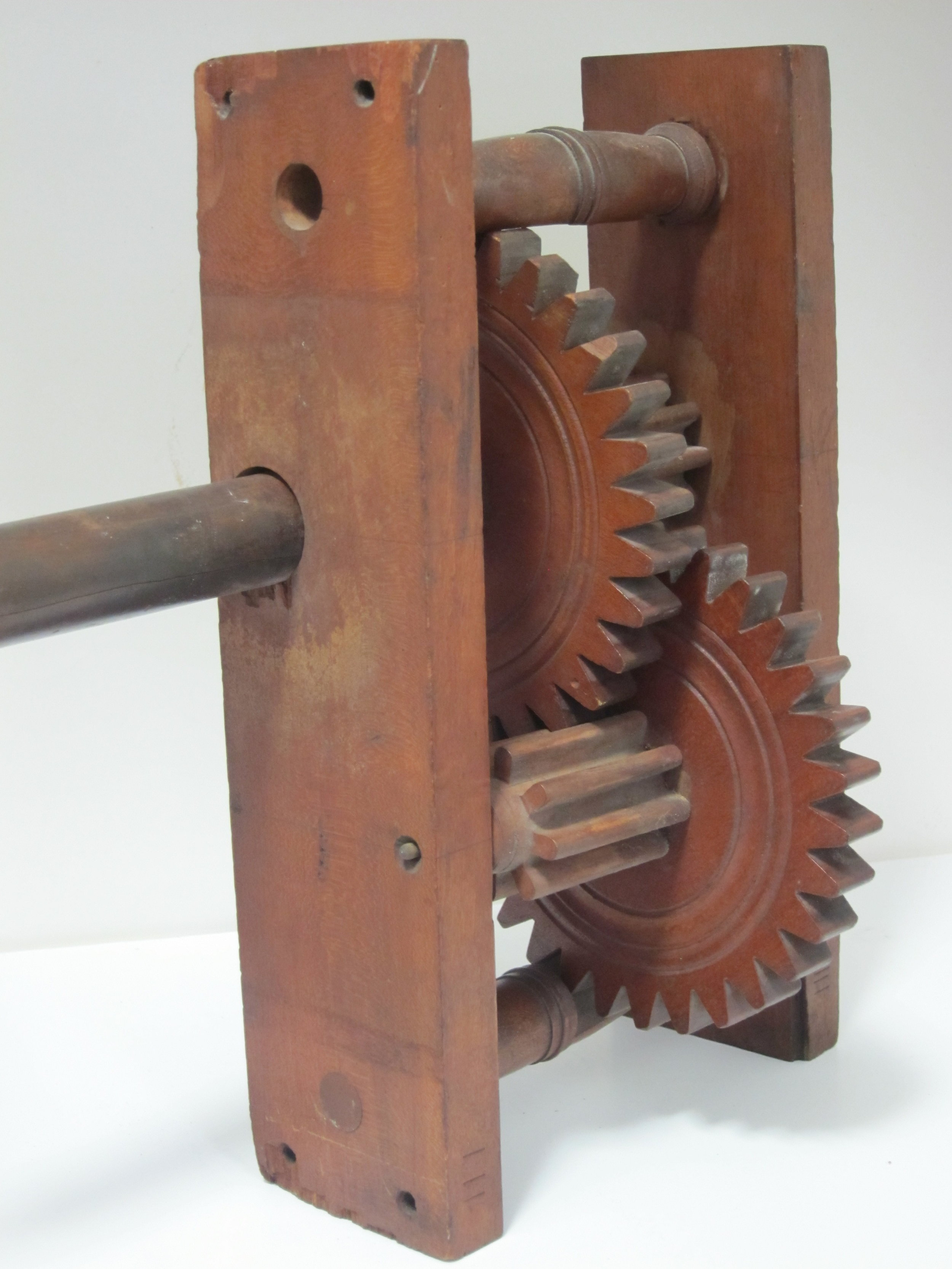 Tower Clock Gears, made by E. N. Byram of Sag Harbor