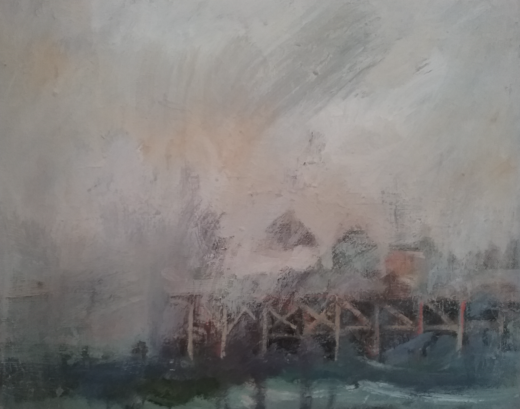 """Foggy Day"" by Whitney Hansen."