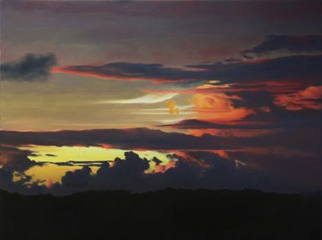 Sunset at the Equator, 2005, April Gornik.