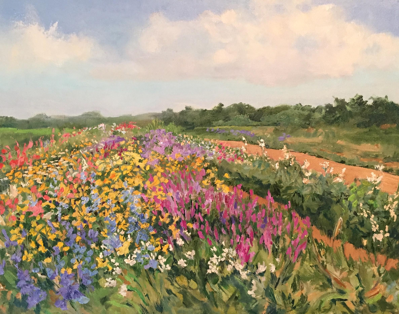 "Casey Chalem Anderson ""Balsam Flower Field""."