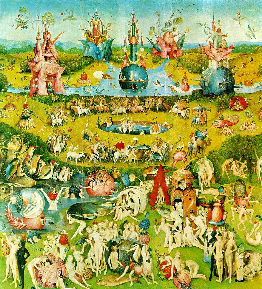 Hieronymus Bosch,  In the Garden of Earthly Delights  (via  Artchive )