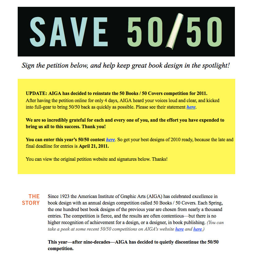 Design Observer Feature: Save 50/50