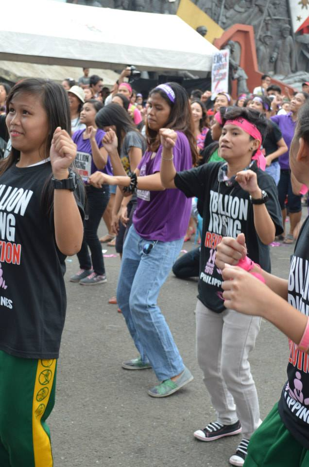 Seyra @ One Billion Rising Revolution 2015 - Dance to End Violence Against Women