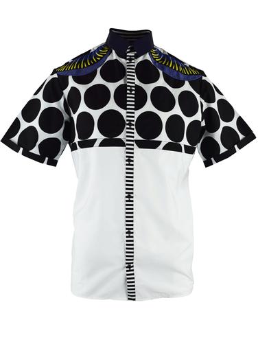Laurenceairline, Shirthole Shirt  by Onychek