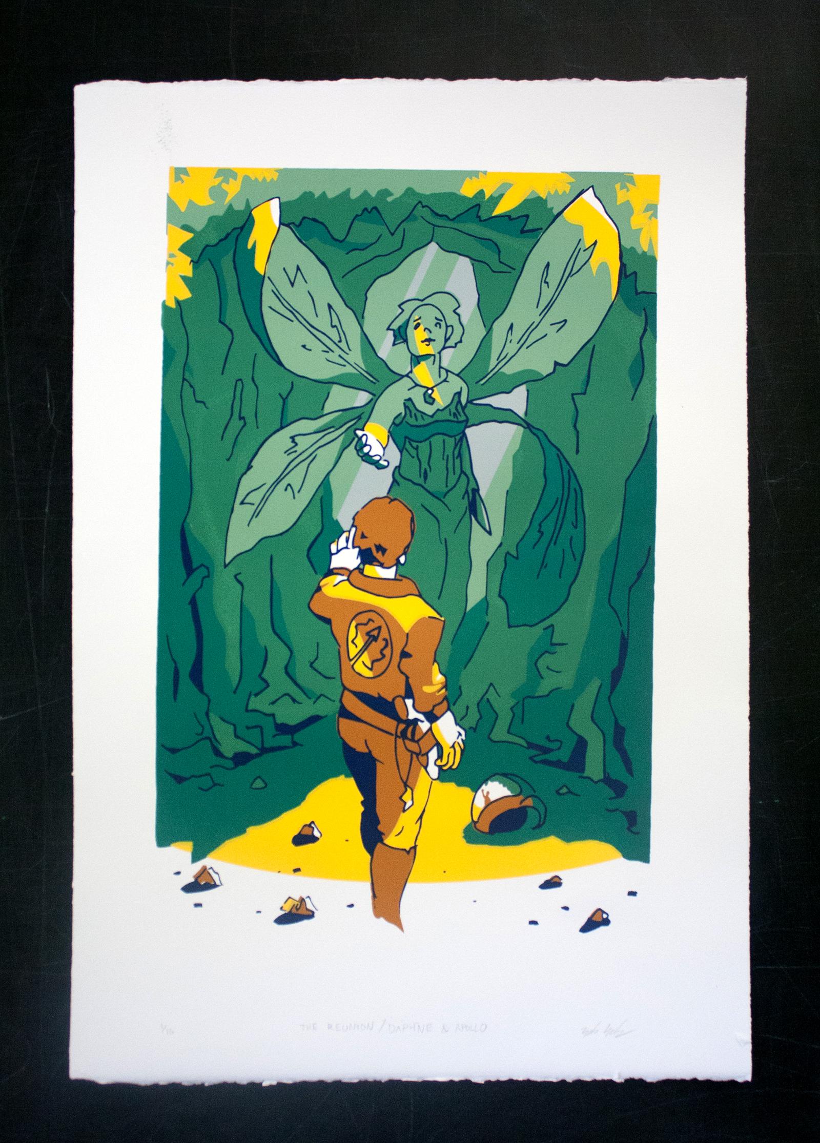 The Reunion / Daphne & Apollo, Screenprint